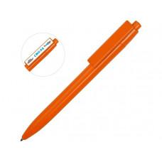 Ручка пластиковая шариковая «Mastic» под полимерную наклейку, оранжевый