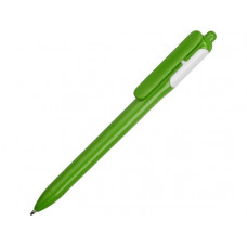 Ручка шариковая цветная, зеленый/белый