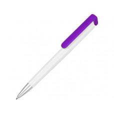 Ручка-подставка «Кипер», белый/фиолетовый