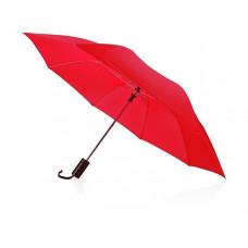 Зонт складной «Андрия», ярко-красный