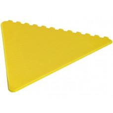 Треугольный скребок Frosty, желтый